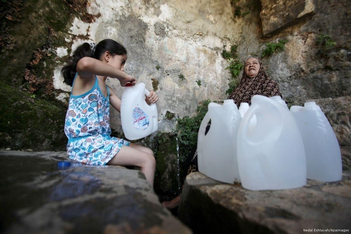 O impacto da ocupação israelense na água da Palestina
